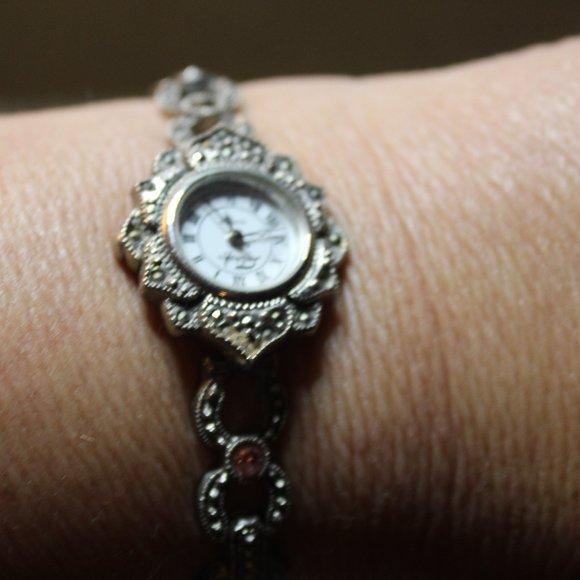 1 HR SALE Vintage Lotus Flower Boho Bracelet watch